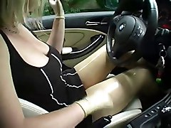 Gearshift Fucking in latex