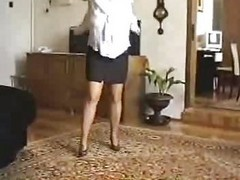 Mature Dance In Pantyhose
