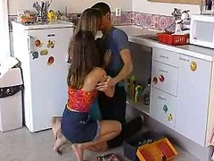 Hottie Teens In The Kitchen