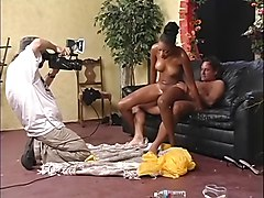 Behind The Scenes - Big Black Wet Asses