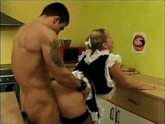 Mature Maid Get Assfucked