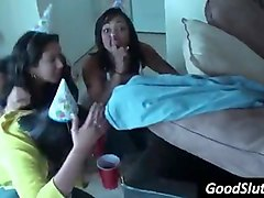 college party girls going wild