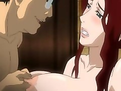 bigboobs japanese anime mom fucking bigcock in the restroom