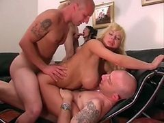 Double Anal For Italian Mature
