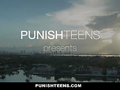 PunishTeens - Innocent Teen Surprised With Hardcore Sex