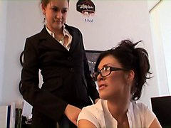 allie haze - secretary is day 4
