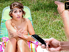 Kimmy Granger in Fun Sized Teen Gets Caught - ExxxtraSmall