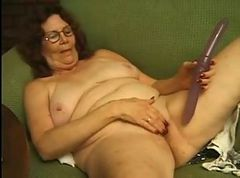 Granny in Glasses Strips and Plays