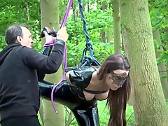 BDSM and Bondage teen ### fucked by master domination