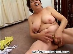 Big tits wet pussy old bag