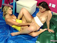 Horny pornstar Sovereign Syre in Amazing Lesbian, MILF adult clip