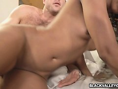 a little cock sucking turns to hot fucking