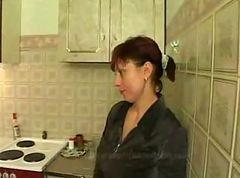 Russian Mom Banged ByHer Sons Friends