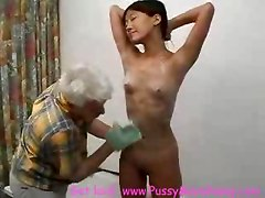 Asian Teen Vs Dirty Old Man