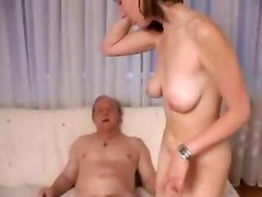 Teen Slut Fucks Old Man