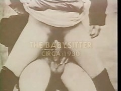 Vintage The Babysitter 1930 Xlx