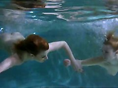 Naked Women Underwater
