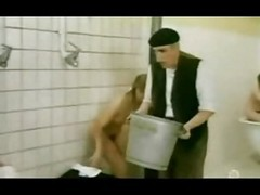 Vintage Hairy Shower 002